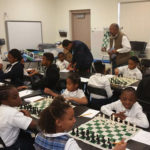 Chess tournament among black youth