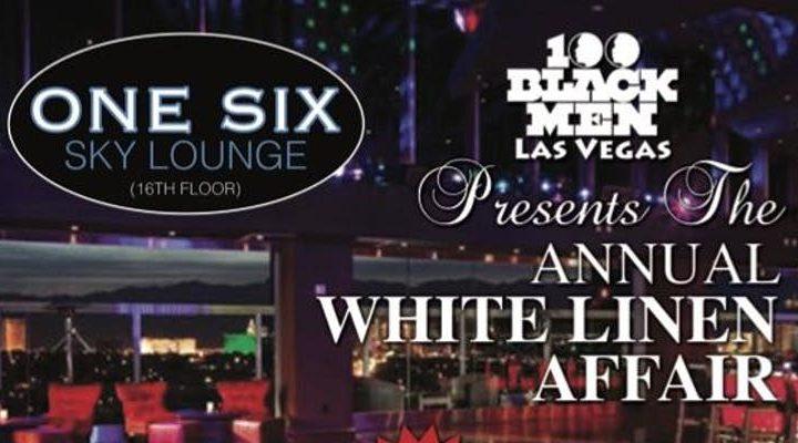White linen affair flyer